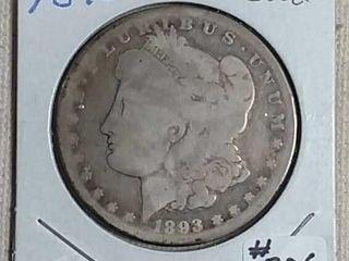 1893 CC Morgan Dollar G