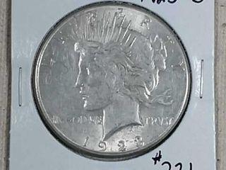 1923 S Peace Dollar XF