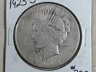 1923 S Peace Dollar VF