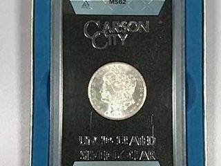 1878 CC GSA Morgan Dollar ANACS MS 62