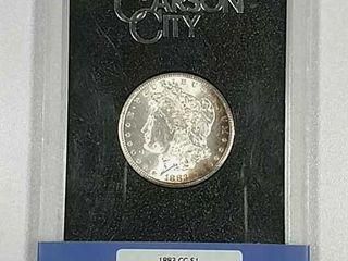 1883 CC GSA Morgan Dollar NGC MS 63