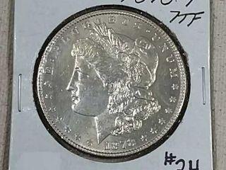 1878 7 TF Morgan Dollar MS