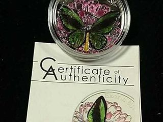 2012  5 Tokelau 3D Exotic Butterfly