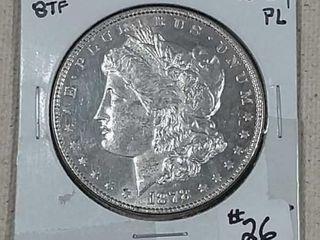 1878 8 TF Morgan Dollar MS Pl