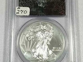 2014 Silver Eagle PCGS MS 69
