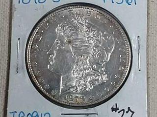 1878 S Morgan Dollar MS 61