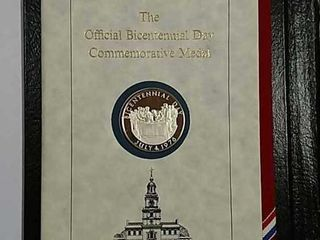 The Official Bicentennial Day Commemorative Medal