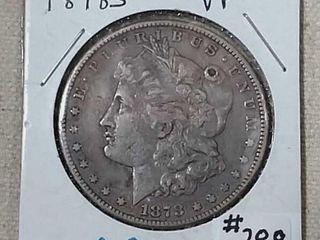 1878 S Morgan Dollar VF   details