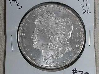 1879 S Morgan Dollar MS Pl