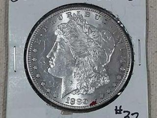 1880 S Morgan Dollar BU