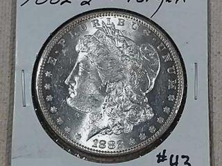 1882 S Morgan Dollar Unc
