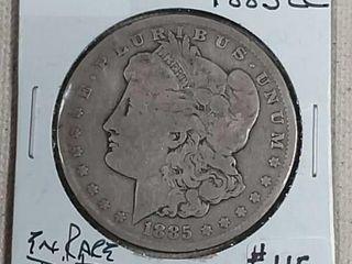 1885 CC Morgan Dollar VG