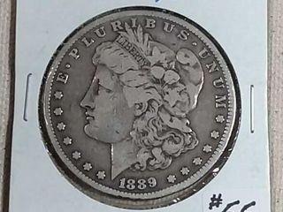 1889 CC Morgan Dollar F