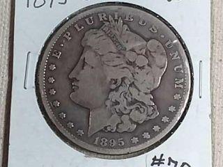 1895 S Morgan Dollar VG