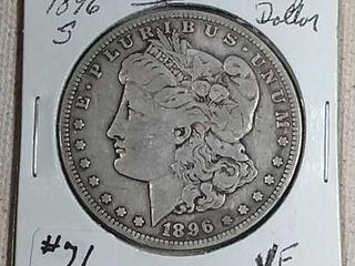 1896 S Morgan Dollar VF
