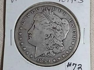 1899 S Morgan Dollar VF