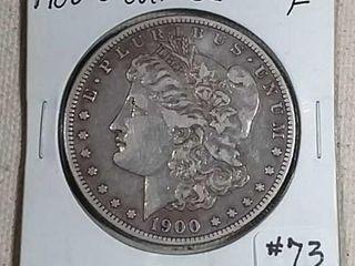 1900 O over CC Morgan Dollar F