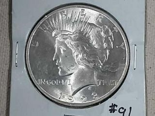 1923 Peace Dollar MS 63