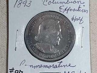 1893 Columbia Exposition Half Dollar MS
