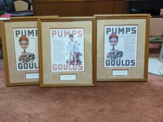 3  limited Edition Norman Rockwell Framed Prints