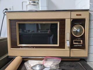 Vintage Microwave Oven
