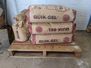 3  50lb Bag Of Quik Gel High Yield Bentonite