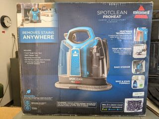 Unopened Bissell Spotclean Proheat Portable Spot Carpet Cleaner