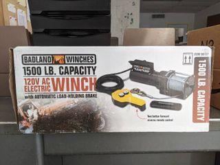 Badland Winches 1500lb AC Electric Winch