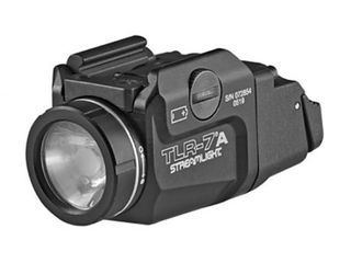 Streamlight 69424 TlR 7A Flex low Profile Rail Mounted Tactical light 500 lumens Flashlight low and High Switch Black