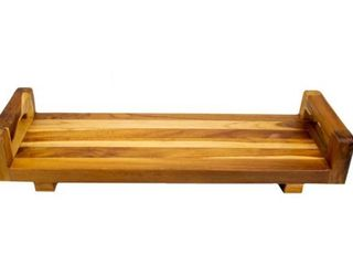 EcoDecors Solid Teak Eleganto Bathtub Seat Bench Board And Tray With liftaide Arms  Retail 84 95