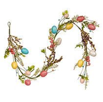 National Tree Company 59 inch Easter Eggs Garland