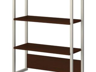 Method Bookcase Hutch in Cocoa from Office by Kathy Ireland  Retail 152 99