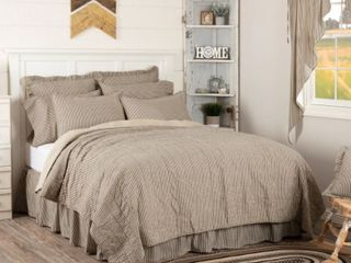 Sawyer Mill Queen Coverlet  Charcoal