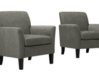 Copper Grove Fastiv Flared Armchairs  Set of 2  Retail 411 99
