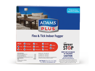 Adams Plus Flea and Tick Indoor Fogger  3 Pack  3 oz