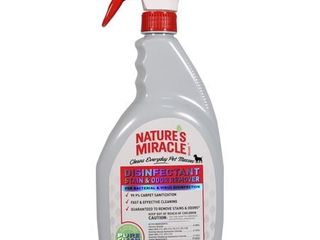 Nature s Miracle NM 5479 Brand Disinfectant Stain Odor Remover  32 oz