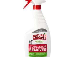 Nature s Miracle Spray Pet Stain and Odor Remover Enzymatic Formula 24 Oz