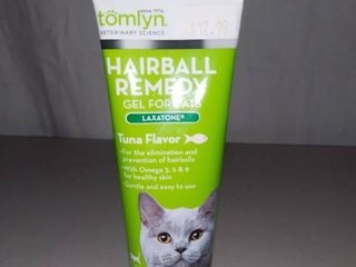 Tomlyn Hairball Remedy Gel For Cats 2 5 Ounce Bottle