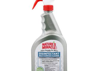 Nature s Miracle Disinfectant Multi Surface Cleaner Spray  32 fl  oz