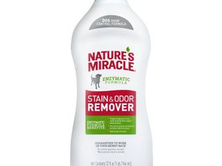 Natureas Miracle Stain And Odor Remover Dog 32 Ounces  Odor Control Formula  Pour
