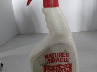 Nature s Miracle Stain   Odor Remover  Flowering Meadows Scent  32 Ounce Spray  P 5794