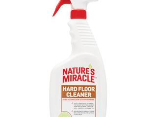 Nature s Miracle Dual Action Hard Floor Stain   Odor Remover  24 Ounce Spray  P 5553