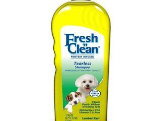 Fresh  n CleanAr Tearless Shampoo  light Vanilla Scent  18 oz
