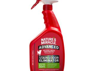 Nature s Miracle Advanced Dog Stain   Odor Eliminator Spray  32 oz