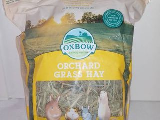 Oxbow Animal Health Orchard Grass Hay 15 Oz Expires July 9 2021