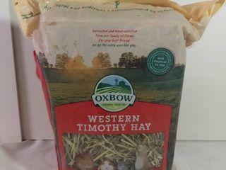Oxbow Animal Health Western Timothy Hay 15 Oz Expires July 3 2021