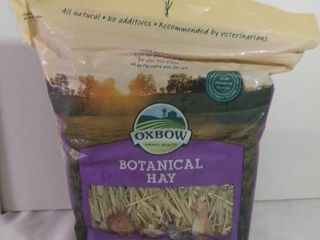 Oxbow Animal Health Botanical Hay 15 Oz Expires March 26 2021