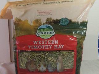 Oxbow Animal Health Western Timothy Hay 40 Oz Expires August 27 2021