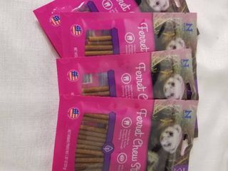 lot of Four Bacon Flavored Ferret Chew Sticks  Expired