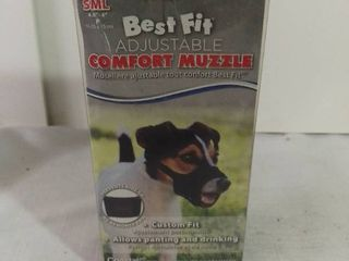 Best Fit Adjustable Comfort Muzzle Custom Fit Size Small
